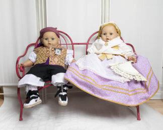 Indumentaria femenina infantil